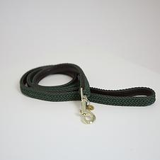 Laisse pour Chien en Nylon Tressé Vert Olive - Kentucky Dogwear
