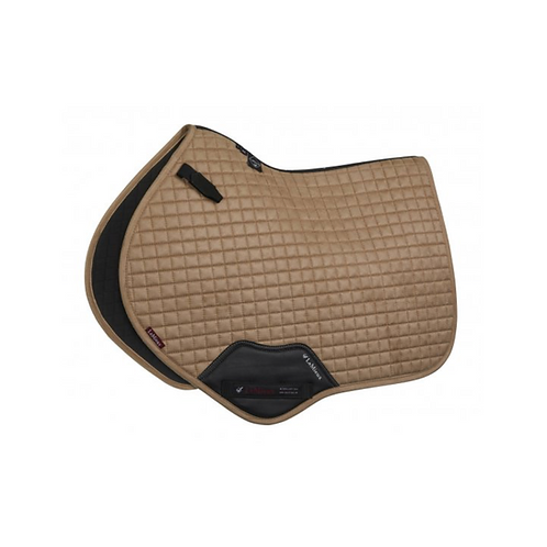 Tapis DE SELLE CHEVAL ProSport Suede Close Contact Square LeMieux champagne