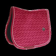 Tapis de Selle Velvet Fuchsia - Kentucky Horsewear