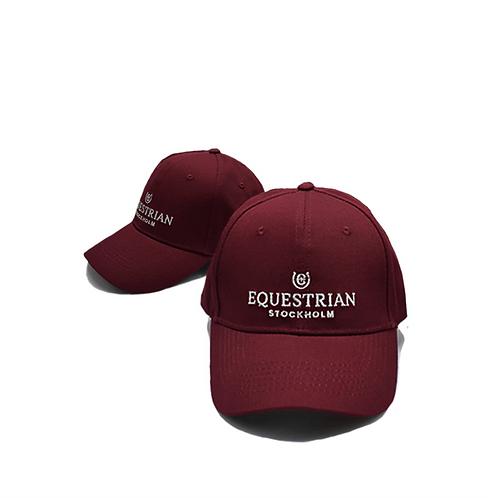 CASQUETTE ÉQUITATION EQUESTRIAN STOCKHOLM BORDEAUX
