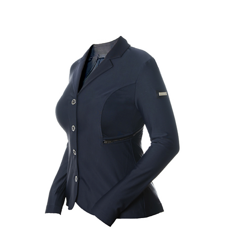 Veste de concours femme Equestrian Stockholm bleu