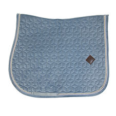 TAPIS DE SELLE VELVET BLEU CLAIR - KENTUCKY HORSEWEAR