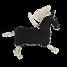 Jouet Relaxant pour Cheval Poney Noir - Kentucky Horsewear