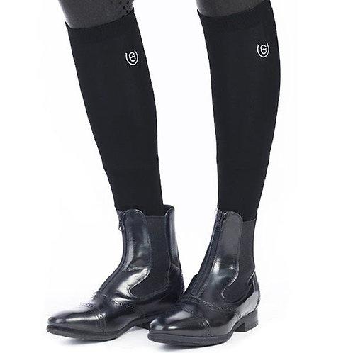 Chaussettes d'équitation hautes Equestrian Stockholm noir
