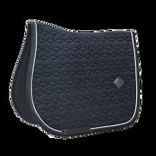 Tapis de Selle Velvet Noir - Kentucky Horsewear