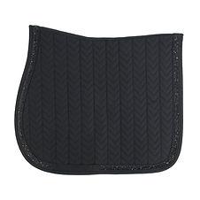 Tapis de Selle Glitter Stone Noir - Kentucky Horsewear