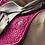 TAPIS DE SELLE VELVET FUSCHIA - KENTUCKY HORSEWEAR
