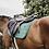 Tapis de selle CHEVAL Velvet Kentucky Horsewear vert SAPIN