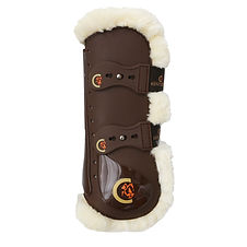 Guêtres Elastic Moumoute Marron - Kentucky Horsewear