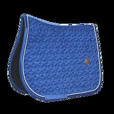 Tapis de Selle Velvet Bleu Marine - Kentucky Horsewear