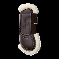 Guêtres en Cuir Moumoute Marron - Kentucky Horsewear