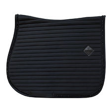 TAPIS DE SELLE PEARLS NOIR - KENTUCKY HORSEWEAR