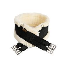 Sangle Mouton Artificiel Noir - Kentucky Horsewear