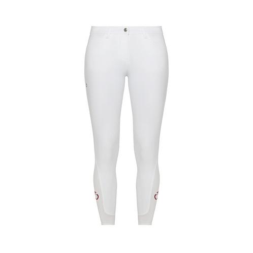 Pantalon d'équitation femmeconcours Cavalleria Toscana blanc