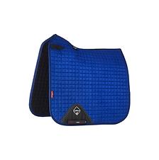 Tapis de Selle Suède Dressage Benetton Blue - LeMieux