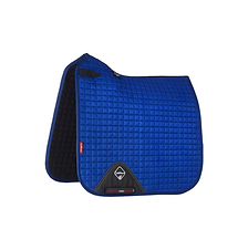 TAPIS DE SELLE SUEDE DRESSAGE BENETTON BLUE - LEMIEUX
