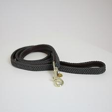Laisse pour Chien en Nylon Tressé Gris - Kentucky Dogwear