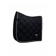 TAPIS DE SELLE DRESSAGE BLACK EDITION SILVER - EQUESTRIAN STOCKHOLM