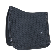 Tapis de Selle Dressage Glitter Stone Noir - Kentucky Horsewear