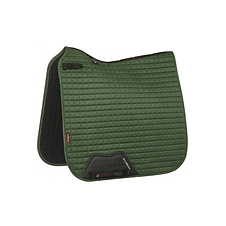 TAPIS DE SELLE SUEDE DRESSAGE HUNTER GREEN - LEMIEUX