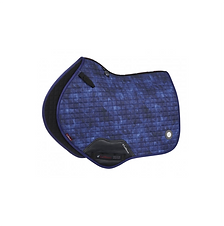 TAPIS DE SELLE GLACÉ CLOSE CONTACT NAVY - LEMIEUX