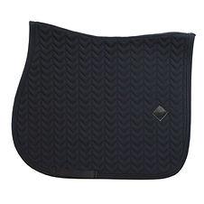 Tapis de Selle Fishbone Noir - Kentucky Horsewear
