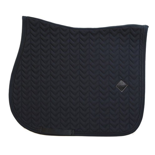 tapis de selle cheval Kentucky Horsewear Fishbone noir