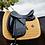 TAPIS DE SELLE DRESSAGE VELVET MOUTARDE - KENTUCKY HORSEWEAR