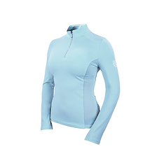 T-SHIRT BASE LAYER MANCHES LONGUES ICE BLUE - EQUESTRIAN STOCKHOLM