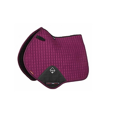 TAPIS DE SELLE SUEDE CLOSE CONTACT PLUM - LEMIEUX