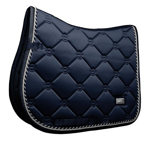 Tapis de selle cheval Equestrian Stockholm Midnight Blue