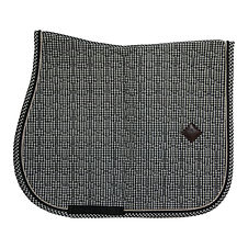 Tapis de Selle Pied-de-poule Noir - Kentucky Horsewear