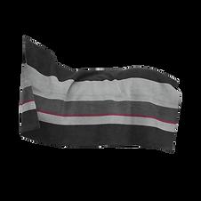 Couverture Séchante Carré Épaisse Stripes Noir - Kentucky Horsewear