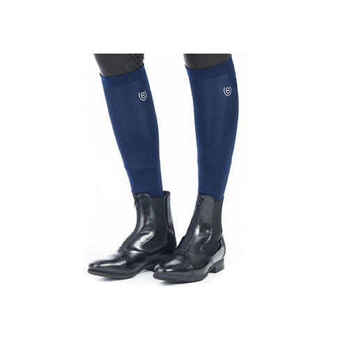 CHAUSSETTES NAVY - EQUESTRIAN STOCKHOLM