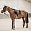 KENTUCKY HORSEWEAR TAPIS DE SELLE CHEVAL GLITTER ROPE NOIR