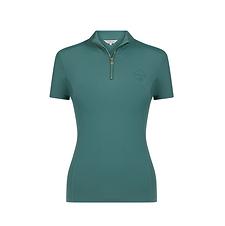 T-Shirt Base Layer Manches Courtes Sage - LeMieux