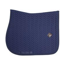 Tapis de Selle Fishbone Bleu - Kentucky Horsewear
