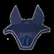 Bonnet Wellington Velvet Bleu Marine - Kentucky Horsewear