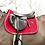 TAPIS DE SELLE VELVET ROUGE - KENTUCKY HORSEWEAR