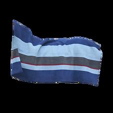 Couverture Séchante Carré Épaisse Stripes Bleu - Kentucky Horsewear