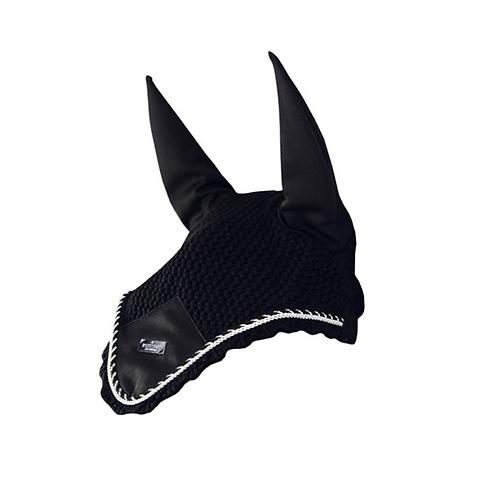 Bonnet anti-mouches Equestrian Stockholm Black Edition