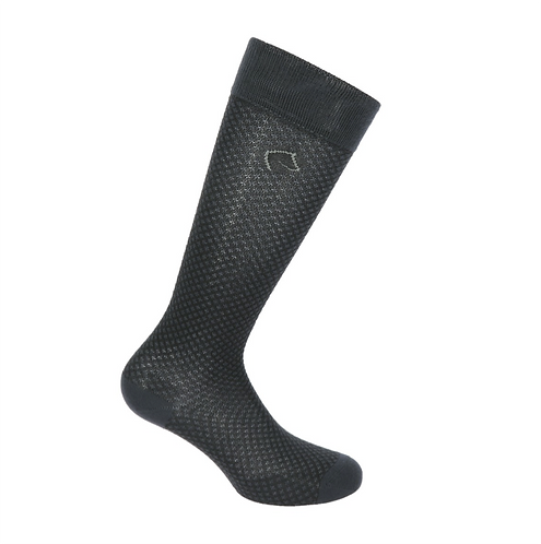 chaussettes d'équitationÉquithème bambou gris