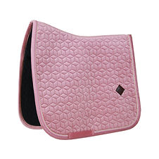 TAPIS DE SELLE DRESSAGE VELVET ROSE - KENTUCKY HORSEWEAR