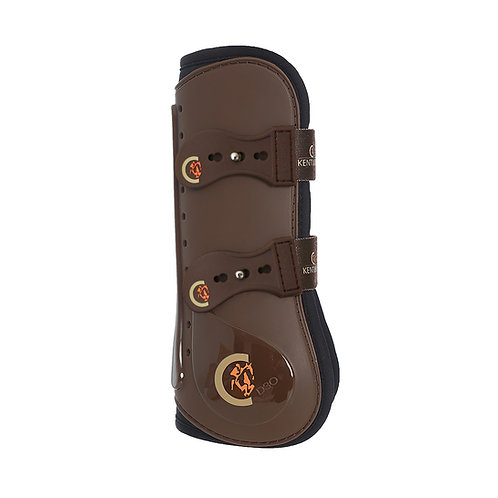 Guêtres élastiques Kentucky Horsewear marron