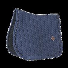 Tapis de Selle Glitter Stone Bleu - Kentucky Horsewear