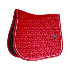 TAPIS DE SELLE VELVET ROUGE - KENTUCKY HORSEWEAR