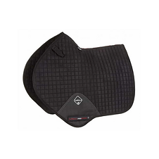 TAPIS DE SELLE SUEDE CLOSE CONTACT BLACK - LEMIEUX