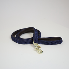 Laisse pour Chien en Nylon Tressé Bleu - Kentucky Dogwear