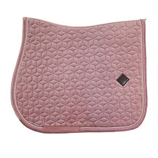 TAPIS DE SELLE VELVET ROSE - KENTUCKY HORSEWEAR