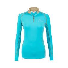 T-Shirt Base Layer Manches Longues Azure - LeMieux